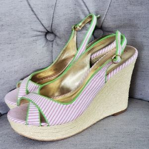 Lilly Pulitzer Wedge Espadrilles